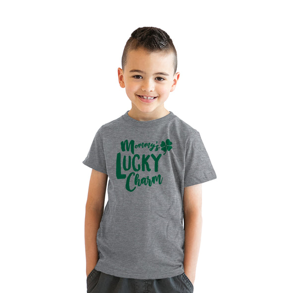 Mommy's Lucky Charm Youth Tshirt