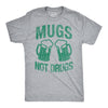 Mugs Not Drugs Men's Tshirt