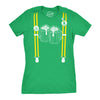 Suspenders Beer Mugs Women's Tshirt