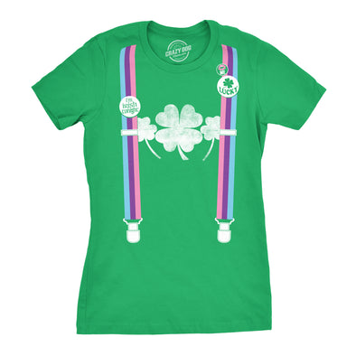 Rainbow Suspenders Women's Tshirt
