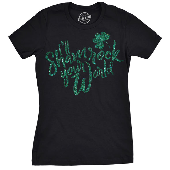 Shamrock Your World Women's Tshirt