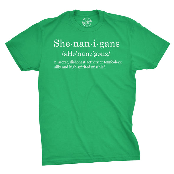Shenanigans Definition Men's Tshirt
