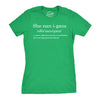 Shenanigans Definition Women's Tshirt