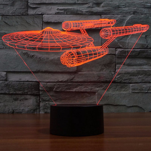 Star Trek USS Enterprise LED Night Light