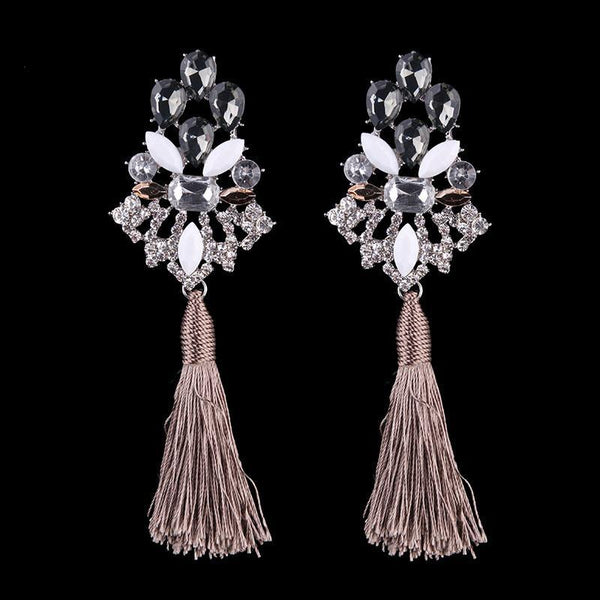 Waterfall from heaven drop earrings