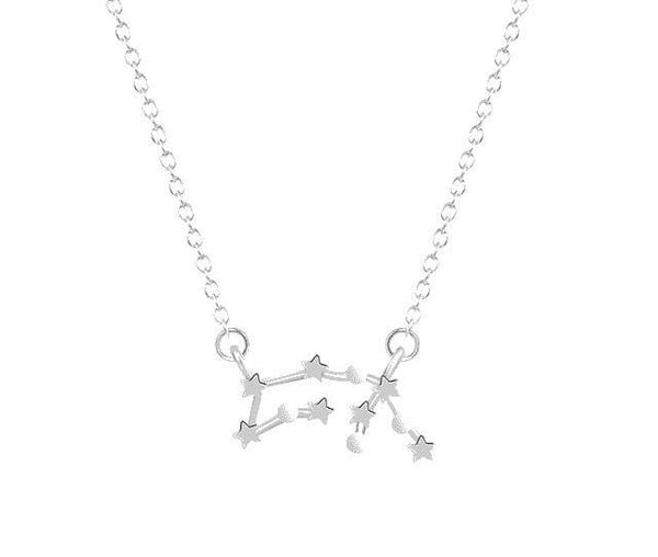 Zodiac Signs Constellation Necklace
