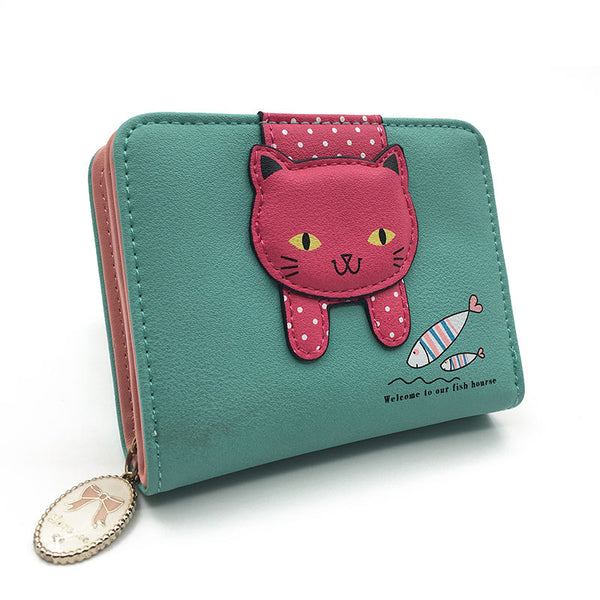 Kawaii cat wallet