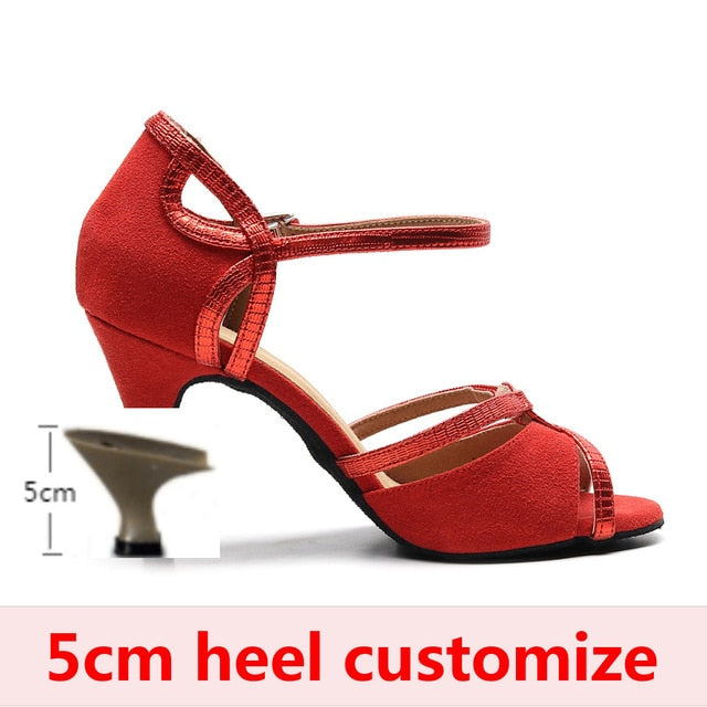 Women Ballroom Salsa Latin Jazz Tango Dance Shoes