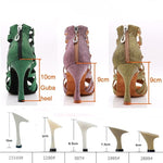 New Latin Women Boots Cuba Dance Shoes