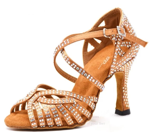 Woman Jazz Salsa Dance Shoes