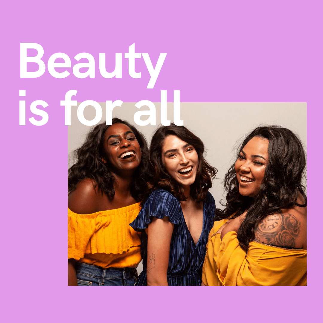 Beauty is for all
