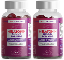 Load image into Gallery viewer, Melatonin Gummies for Kids (2 Pack)