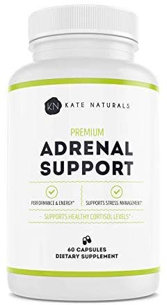 Premium Adrenal Support Supplements (with Ashwagandha)