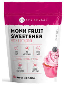 Monk Fruit Sweetener with Erythritol Blend