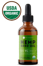 Load image into Gallery viewer, Organic Hemp Seed Oil