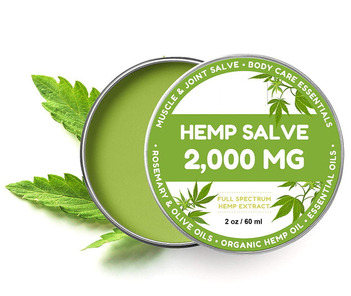 Hemp Salve for Pain Relief