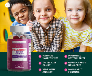 Melatonin Gummies for Kids (2 Pack)