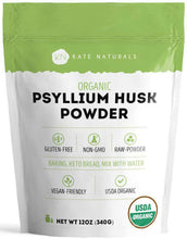 Load image into Gallery viewer, Psyllium Husk Powder Organic