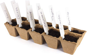 Seed Starter Peat Pots Tray