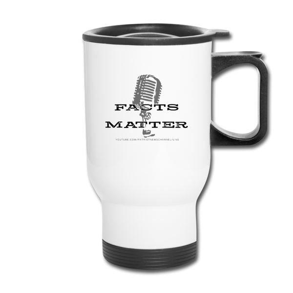 Patriot News Travel Mug - white