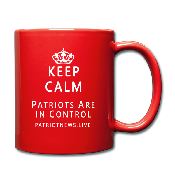 "Patriot News ""Keep Calm"" Full Color Mug - red"