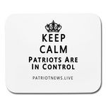 "Patriot News ""Keep Calm"" Mouse pad Horizontal - white"