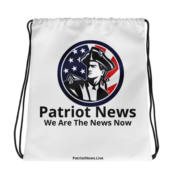 Patriot News Drawstring Bag