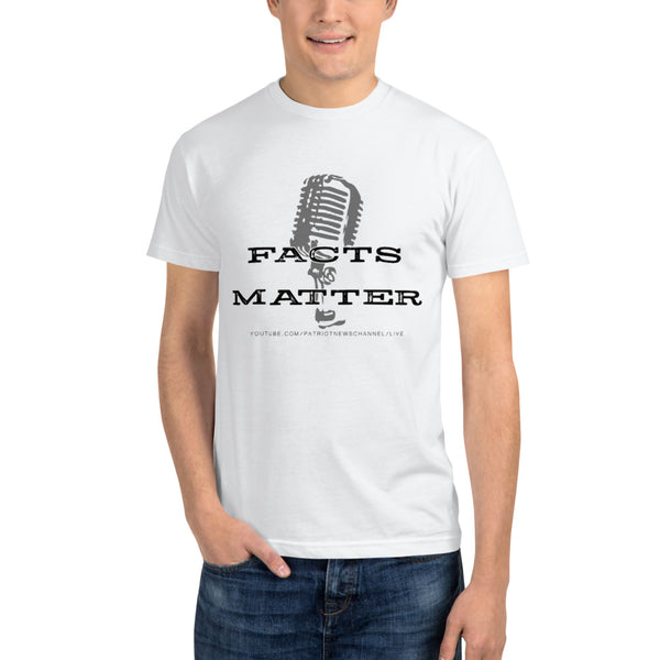 "Patriot News ""Facts Matter"" Next Level 4600 Unisex Eco Tee"