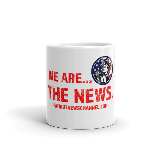 """We are the News"" Mug"