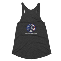 Patriot News Channel American Apparel TR308W Women's Tri-Blend Racerback Tank