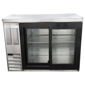 Beverage Air BB48HC-1-GS-S Back Bar Refrigerator Sliding Glass Door - Summit Restaurant Supply