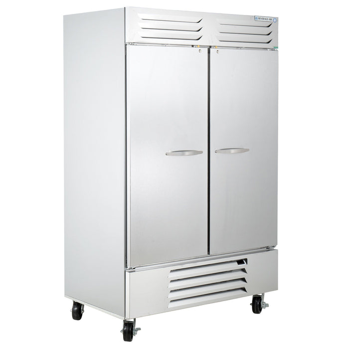 Beverage Air RB49HC-1S Vista Series Reach-in Refrigerator 46.15 Cu. Ft. Capacity