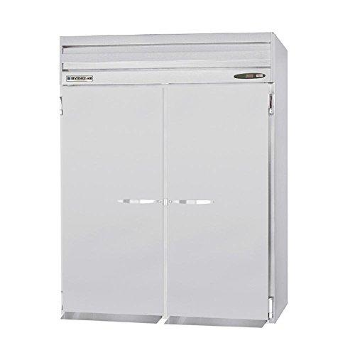 "Beverage Air PRT2-1AS Two-Section Roll-Thru Prestige Plus Refrigerator 66""W, 78.2 cu. ft."