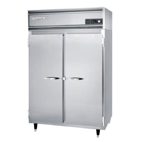 Beverage Air PH2-1S-PT Pass-Thru Warming Cabinet w/ 4-Doors, Aluminum Exterior, 48-cu ft, Each