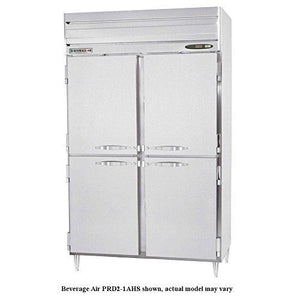 "Beverage Air PH2-1HS-PT Two-Section Reach-In Warming Cabinet 52""W, 48 cu. ft. - Summit Restaurant Supply"