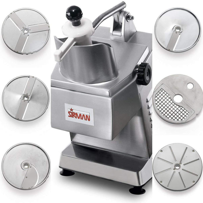 Sirman TM Continuous-Feed Food Processor / Vegetable Cutter