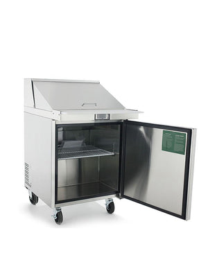 "Atosa MSF8301 27"" Commercial Sandwich Prep Table - Summit Restaurant Supply"