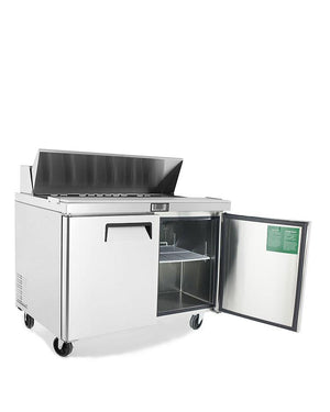 "Atosa MSF8302 48"" Commercial Sandwich Prep Table - Summit Restaurant Supply"