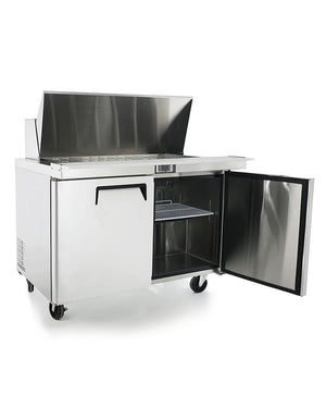 "Atosa MSF8306 48"" Mega Top Sandwich Prep Table - Summit Restaurant Supply"