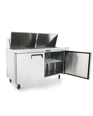 "Atosa MSF8307 60"" Mega Top Sandwich Prep Table - Summit Restaurant Supply"
