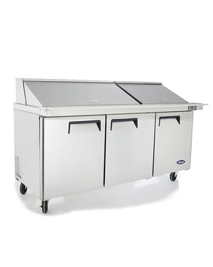 "Atosa MSF8308 72"" Mega Top Sandwich Prep Table - Summit Restaurant Supply"