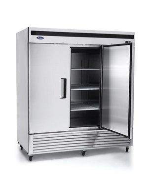 Atosa MBF8504 Upright Freezer Bottom Mount (3) Three Door - Summit Restaurant Supply