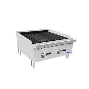 Atosa ATCB-24 HD 24 Countertop Char-Rock Broiler