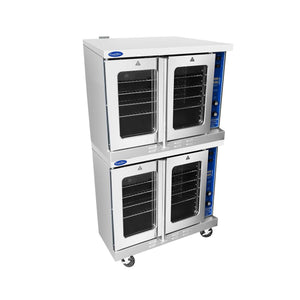 Atosa ATCO-513B-2 Gas Convection Ovens (Bakery Depth) - Summit Restaurant Supply