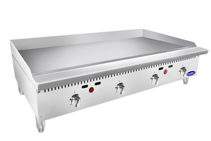 Atosa ATMG-48T– 48″ HD Thermostatic Griddle - Summit Restaurant Supply
