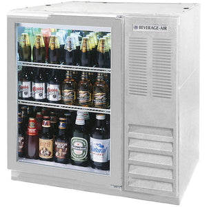 Beverage Air BB36HC-1-G-S Back Bar Refrigerator