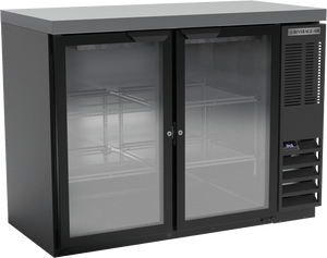 Beverage Air BB48HC-1-G-B-27 Back Bar Refrigerator Glass Door - Summit Restaurant Supply