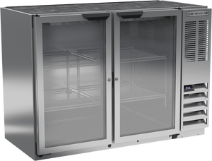 Beverage Air BB48HC-1-G-S Back Bar Refrigerator Glass Door - Summit Restaurant Supply