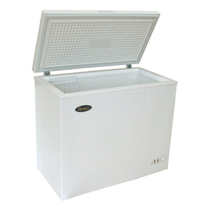 Atosa MWF9016 Solid Top Chest Commercial Freezer 16 Cu. Ft. - Summit Restaurant Supply