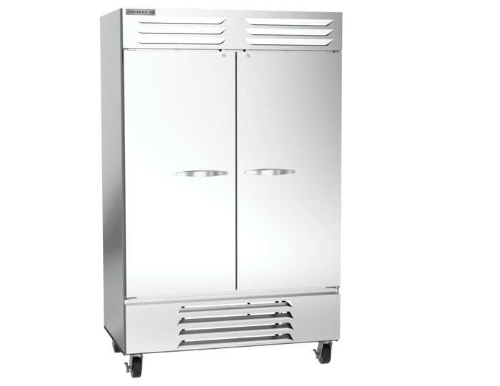 Beverage-Air FB49HC-1S Two Door Freezer, Stainless Steel